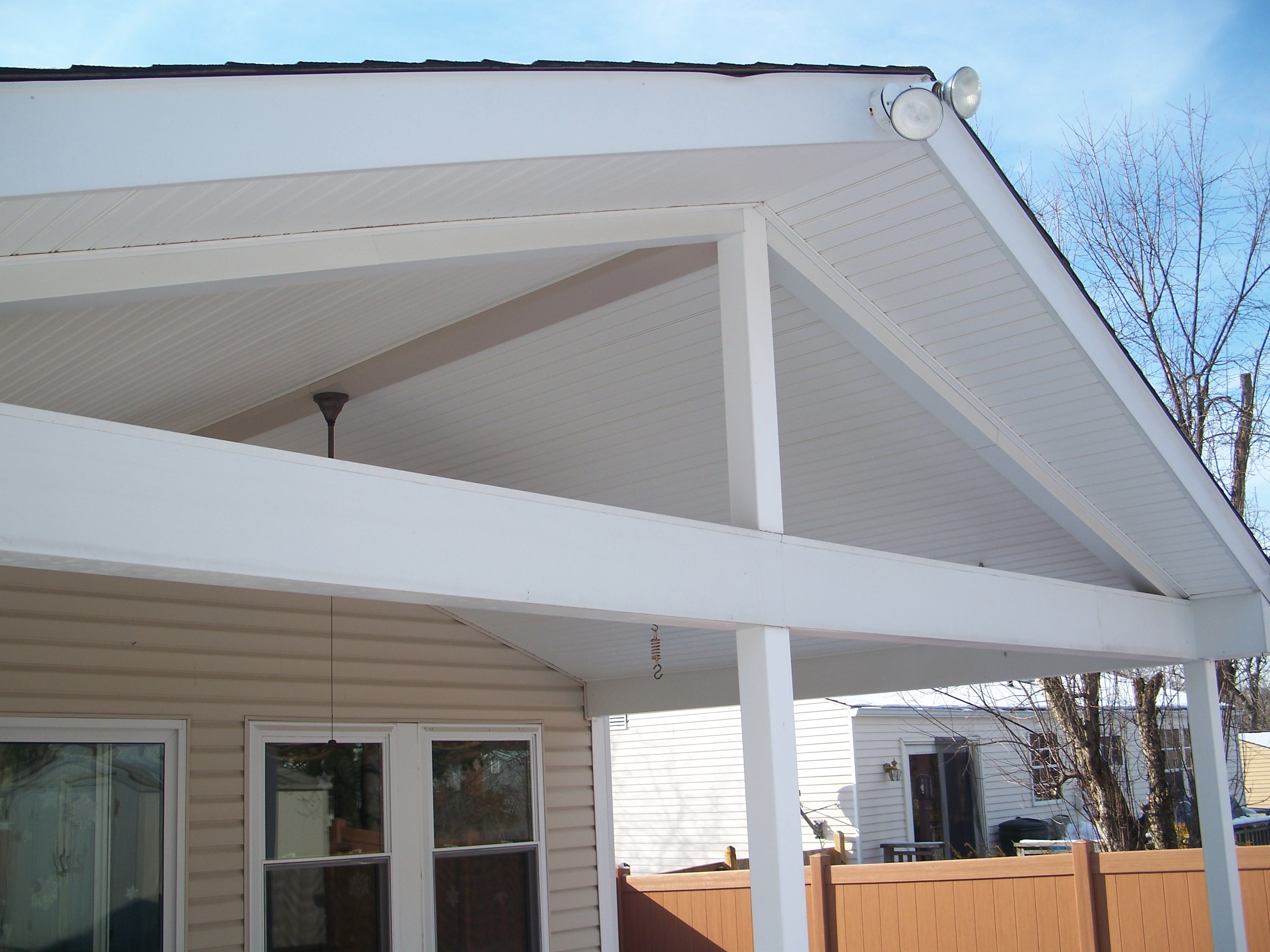 A Porch Roof Design To Keep The Elements Out But Let The Sunlight In Greg Felix Construction